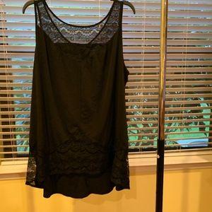 Lane Bryant Tops - Lane Bryant black sleeveless top